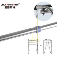 China Stainless Steel Walker Disabled Walking Aids , Walking Frames For Disabled    wholesale