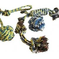 China Fashion Cotton Dog Rope Toys For Aggressive Chewers OEM / ODM Available wholesale