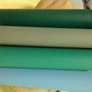 China Blue Green 400D 1*10m 1.2*10m 10E5 Ohm Rubber ESD Mat wholesale
