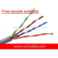 China UL Lan Cable Cat5e UTP 26AWG 4Pairs OD5.5mm Free Sample Available on sale