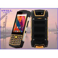 China Dual Sim Rugged quad core SmartPhone , outdoor cell phone Rear 5.0MP Camera wholesale