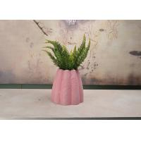 China Durable Indoor Decorative Planters , Polyethylene Material Round Plant Pot wholesale