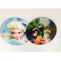 China Customized Flip Effect Lenticular 3D Fridge Magnets Silk Screen Printing wholesale