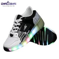 China New style comfortable led light up kids roller skate shoes wholesale