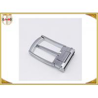 China Custom Design Metal Belt Buckles For Men / Women  Zinc Alloy Material wholesale