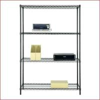 China Multipurpose  Commercial Wire Shelving  14D X 36W Easy To Clean on sale