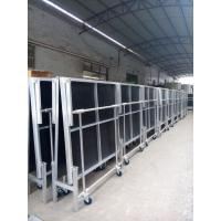 China 1.22*2.4M High 0.4-0.6 Or 0.6-1.0m Aluminum Folding Stage With Wheels wholesale