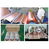 China Zinc - Free Edco Copper Foil , 3 / 4 OZ  Thickness Copper Sheet Metal Roll wholesale