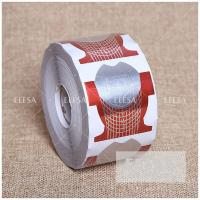 China Paper Gel Nail Form Fish Shape Private Label Nail Extension Holder on sale