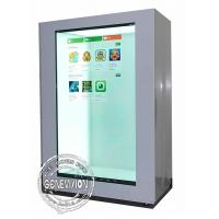 Buy cheap 15 inch Portrait Transparent LCD Showcase USB Update with HDMI input from wholesalers
