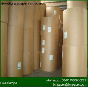 China c2s coated 170gsm 200gsm 250gram Gloss Art Paper / art card wholesale