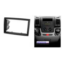 China Vehicle Accessories Car Stereo Fascia for CITROEN C1 TOYOTA Aygo PEUGEOT Facia Install wholesale