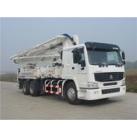 Quality Safety Electronically Control Concrete Pump Truck Strong Stability With HOWO for sale