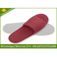 China hotel slipper,waffle slippers manufacturer,waffle slipper with logo on sale