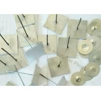 China Zinc Coated Steel Self Adhesive Pins , Aluminum Insulation Spikes For Hvac System on sale