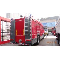 China 20CBM LHD 6X4 Fire Fighting Vehicles , Red Safety Emergency Foam Fire Truck wholesale