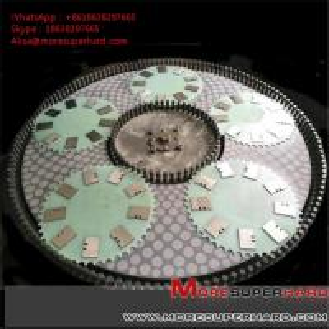 China vitrified bond double disc grinding wheel  Alisa@moresuperhard.com wholesale