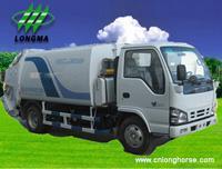 Buy cheap Camió n de basura, contenedores de basura Camió n recolector de basura, from wholesalers