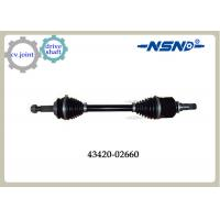 China Front Right Automotive Shaft drive Axle 43420-02660 With Impact Structure wholesale