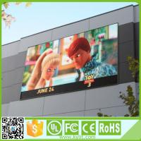 China High brightness Outdoor led advertising Pitch 6mm display, led display screen outdoor p6 wholesale