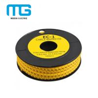 Buy cheap PVC Cable Accessories Colorful Cable Marker Tube / EC-1 Cable Marker from wholesalers