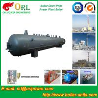 China Cylindrical booster boiler mud drum ASME wholesale