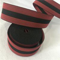 China Custom Lounge Chair Webbing Replacement , Red Chair Seat Webbing Straps wholesale