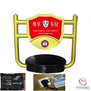 China Alarm Indoor / Outdoor Parking Post Lock Steel Remote Parking Lock Waterproof IP54 wholesale