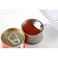 Buy cheap Food Nature Puree Canned Tomato Paste Non Additives Canning Tomato Sauce from wholesalers