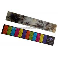 Quality PET / PP Printing Customised 3d Lenticular Ruler For Student Flip Effect for sale