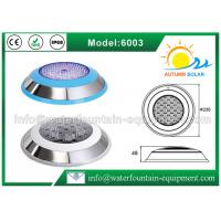 China Stainless Steel 304 Underwater Pool Lights RGB 18W Energy Saving Color Changing wholesale