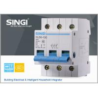 China SINGI HL30 230/240V disconnect switch, 1/2/3/4p 80A electric isolating switch wholesale