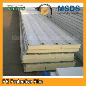 China Galvanized Sheet Metal Protective film PPGI & PPGL Rolls automotive transport protection film wholesale