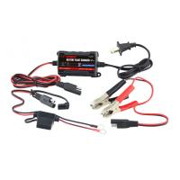 China Portable Lead Acid Automatic Car Battery Chargers 12V / 750mA wholesale