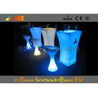 China LED Bar Tables Built-in rechargeable battery & RGB LED light wholesale