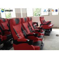 Quality Exciting 4D Cinema Equipment Seats Can Movement From Front To Back 50 - 200 for sale