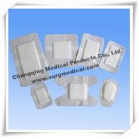 China Sterile Wound Care Dressing / Medical Fabric Non - Woven Adhesive Wound Dressing wholesale