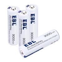 Buy cheap Long Lasting 3000mAh Rechargeable Cell Batteries , AA Lithium Ion Battery 1.5V Anti leakage from wholesalers