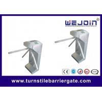 China Durable 304 Stainless Steel Vertical Tripod Turnstile Automatic Rotating Arm wholesale