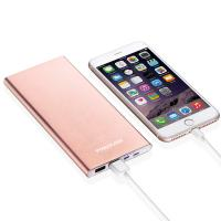 Quality Ultra Slim Dual Smart Usb Power Bank Portable Battery High Capacity For Iphone Ipad for sale