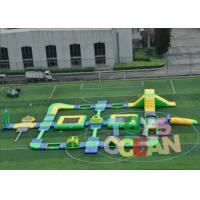 Quality 1.2MM Huge Commercial Inflatable Water Park Rectangle Waterproof For Outdoor for sale