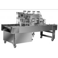 China PLC Controlled Cookie Dough Depositor , Industrial Dough Depositor Machine wholesale