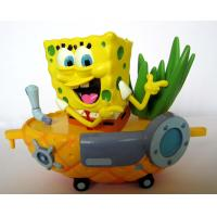 Best Spongebob Toys For Kids : Custom spongebob on pineapple ship plastic toy