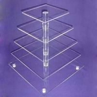 China CD (93) square cake stand wholesale