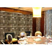 China Embossed Stone Effect Contemporary Bedroom Wallpaper For Tv Wall Background wholesale