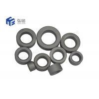 China API Valve Blank Tungsten Carbide Seat Round Shaped For Oil & Gas Industry on sale