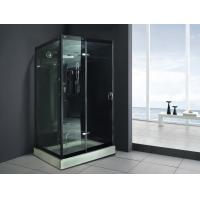 Buy cheap Monalisa M-8290 indoor tempered glass steam shower room European style steam from wholesalers