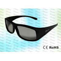 China RealD Bright - Colored 0.72 mm Passive Circular Polarized 3D Glasses wholesale