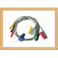 China 0.6m ECG Patient Cable Lead Wires Copper Conductor Material , Din Style wholesale