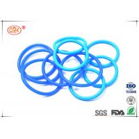 China Coloured Silicone O Rings Food Grade Sunlight Resistant Standard / Nonstandard wholesale